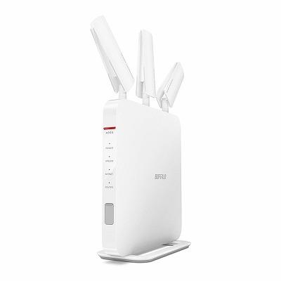 BUFFALO【iphone6 対応】11ac/n/a/b/g 無線LAN親機(Wi-Fiルーター)エアステーション AOSS2 ハイパワー Giga 1GHzデュアルコアCPU搭載 1300+600Mbps WXR-1900DHP (利用推奨環境6人・4LDK・3階建)