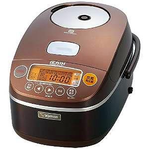 【ママ割】ポイント5倍対象ショップ限定 4/22 20:00スタート(エントリー必要)象印 圧力IH炊飯器5.5合 ブラウン NP-BC10-TA