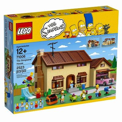 LEGO 71006 Simpsons The Simpsons House レゴ ザ・シンプソンズ