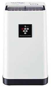 SHARP 高濃度プラズマクラスター搭載 イオン発生機 ポータブルタイプ ホワイト系 IG-C20-W