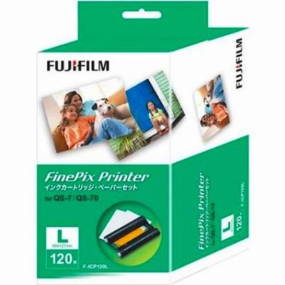 富士フイルム富士フイルム インクカートリッジ/ペーパーセット Lサイズ120枚入り IP F-ICP120L