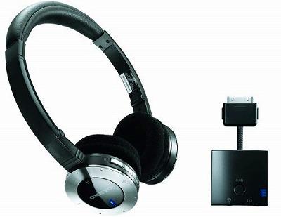 ONKYO MHP-UW2 デジタルワイヤレスヘッドホン iPod対応