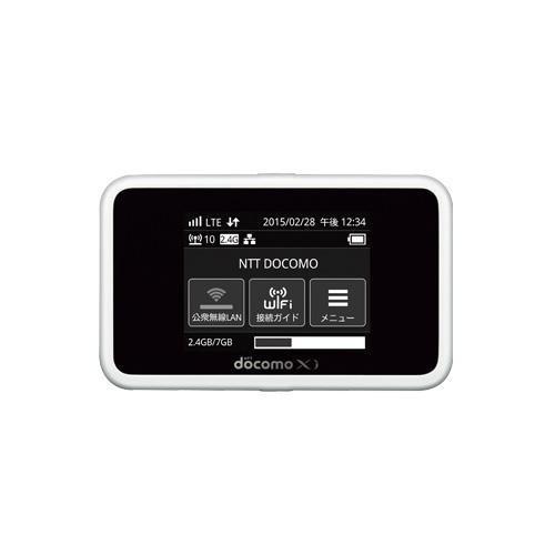 モバイルルーター ドコモ docomo Wi-Fi STATION HW-02G ホワイト
