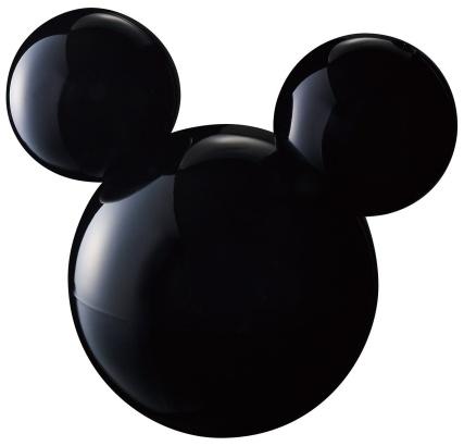 Disney×middle(ディズニー×ミドル)超音波式加湿器 ブラック DS-KW1201 BK