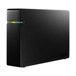 アイ・オー・データ機器 テレビ録画/PCデータ保存対応 USB2.0接続 外付ハードディスク 2TB ブラックモデル HDCA-U2.0CKD