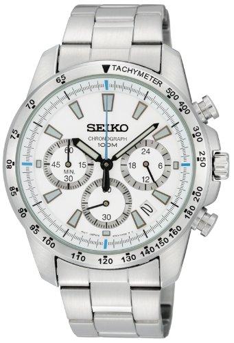 [セイコー]SEIKO 腕時計 クロノグラフ 逆輸入 海外モデル SSB025P1 メンズ 【逆輸入品】