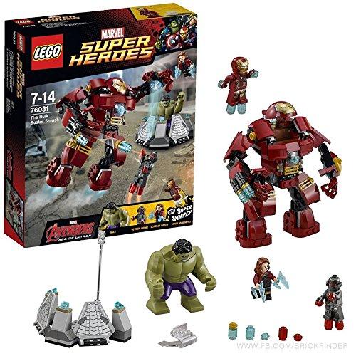 レゴ スーパーヒーローズ 76031 ハルクのバスタースマッシュ