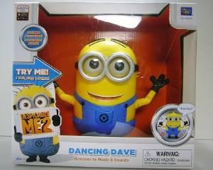 怪盗グルーのミニオン危機一発 バナナの歌を歌いながら踊るミニオン