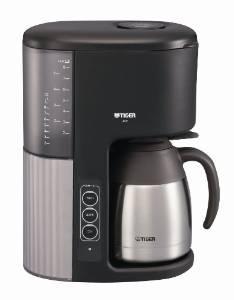 【10日24時間限定\店内全品エントリーで最大P34倍/】TIGER ACE-M080KQ マイコンコーヒーメーカー カフェブラック8杯用 真空ステンレスサーバータイプ