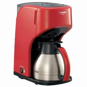 ZOJIRUSHI コーヒーメーカー カップ約1~5杯 EC-KS50-RA レッド