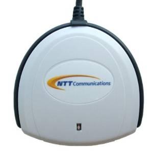 接触型ICカードリーダー・ライター e-Tax Win&Mac対応 SCR3310-NTTCom NTTコミュニケーションズ