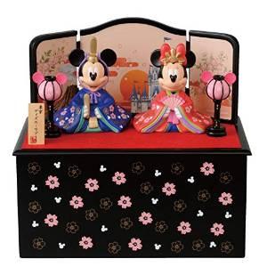 Disney(ディズニー) ひな祭りグッズ ミッキーとミニーのひな人形(台付き)