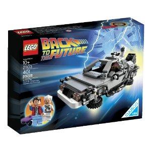 【4月1日限定 カードでエントリー最大ポイント20倍】LEGO 21103 The DeLorean Time Machine レゴ デロリアン バックトゥザフューチャー レゴ クーソー デロリアン・タイムマシン 21103
