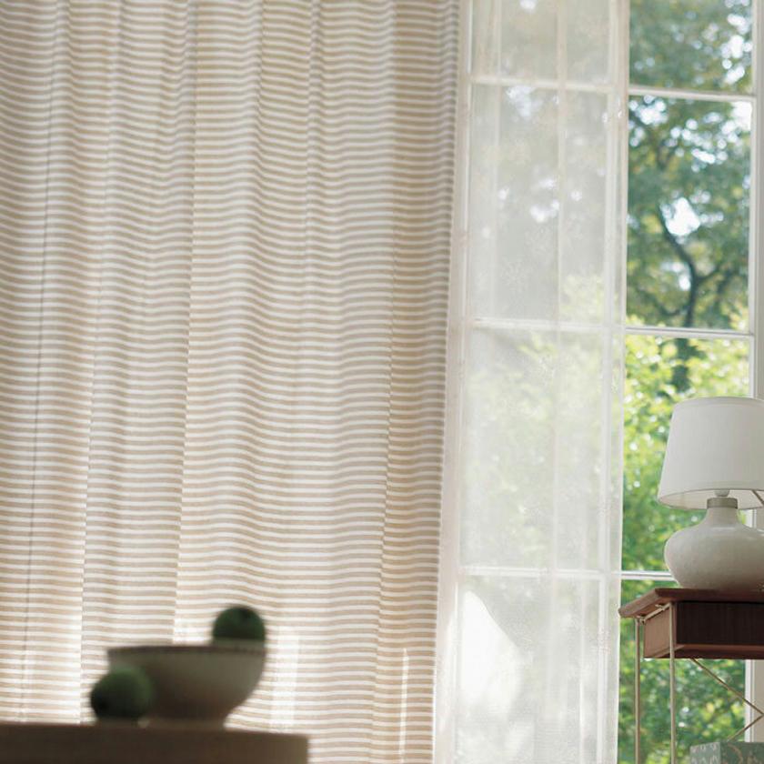 【送料無料】アスワン YESイエスカーテン EDITION6▼1.5倍ヒダ 形態安定 オーダーカーテン ドレープ ウォッシャブル▼ サムシングナチュラル Something Natural