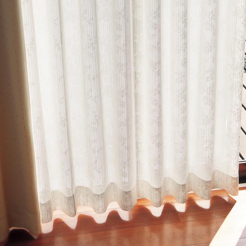 【送料無料】オーダーカーテン▼タテ使いレース スタンダード縫製 フラット・両開き 下部3ッ巻▼川島織物セルコン !'mシリーズ ME2563I'm アイム