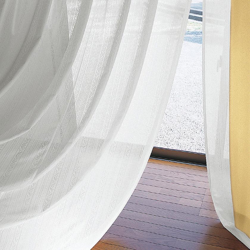 【送料無料】オーダーカーテン▼タテ使いレース ソフトウェーブ縫製 1.5倍ヒダ・2つ山・片開き 下部3ッ巻▼川島織物セルコン !'mシリーズ ME2570I'm アイム