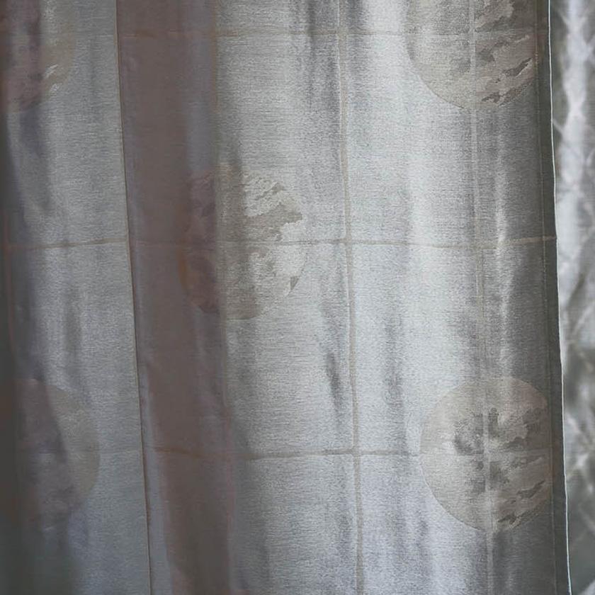 川島織物セルコン カーテン FELTA フェルタ▼ソフトウェーブ縫製オーバーサイズ対応(下部3ッ巻仕様)1.5倍ヒダ片開き▼ 【幅183~278×高さ381~400cm】FELTAシリーズ FT6151