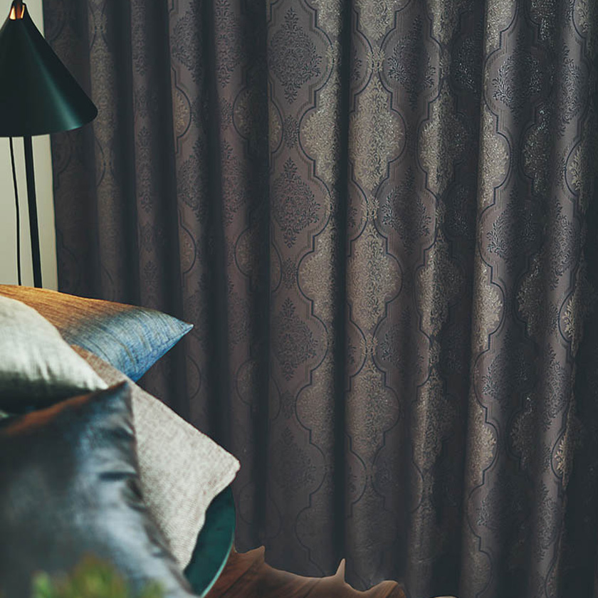 川島織物セルコン カーテン FELTA フェルタ▼ソフトウェーブ縫製(下部3ッ巻仕様)フラット片開き【幅365~458×高さ121~140cm】FELTAシリーズ FT6234~6236