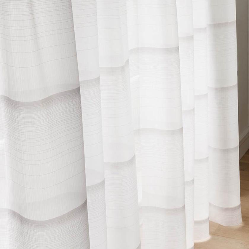 川島織物セルコン カーテン FELTA フェルタ▼ソフトウェーブ縫製オーバーサイズ対応(下部3ッ巻仕様)フラット両開き▼【幅121~1152×高さ321~340cm】FELTAシリーズ FT6632~6633