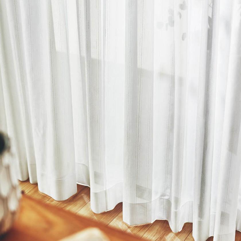 川島織物セルコン カーテン FELTA フェルタ▼スタンダード縫製(下部3ッ巻仕様)2倍ヒダ両開き▼ 【幅225~300×高さ201~220cm】FELTAシリーズ FT6101~6108