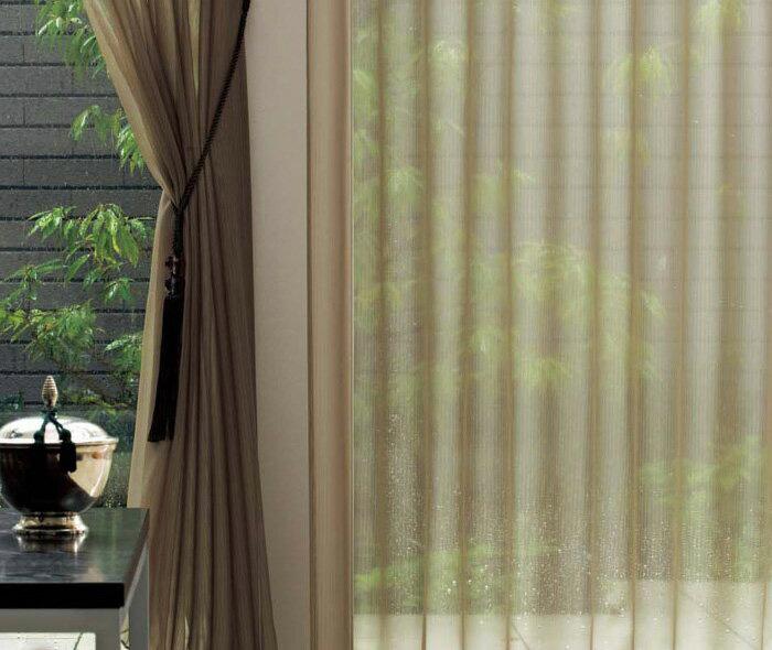 【送料無料】オーダーカーテン▼ソフトウェーブ フラット(ヒダなし)・下部ウエイトテープ付 プルミエ▼川島織物セルコン Premier DESIGN LACE PY1484F~1486F