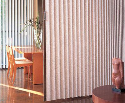 【送料無料】ニチベイ アコーディオンドア やまなみ マーク2 フォンティーヌ・ストーンウォッシュ L-154~159 幅91~125cm 高さ261~280cm