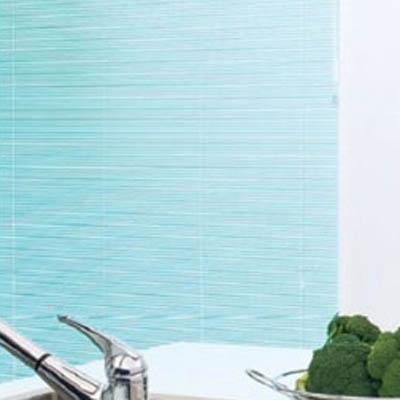 横型アルミブラインド ネジ止め式 15mmスラット 個性派 耐水▼シルキーカーテンアクア▼ タチカワブラインド (浴室用 お風呂用 激安 国産 オーダー)