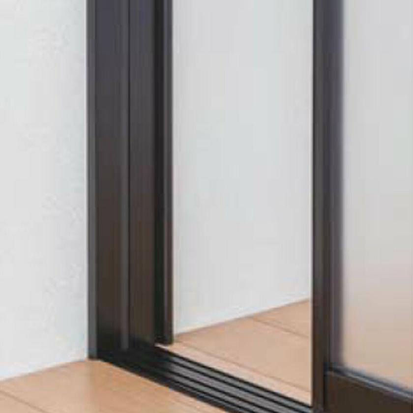 タチカワブラインド プレイススウィング用 オプション 枠 保障 フレーム 壁 当たり すき間 隠し 賜物 引戸格納 プレイススウィング本体と同時購入用 引戸出入り 壁面カマチセット 長さ200.1~270.0cm スウィング用 パネル3枚 プレイス