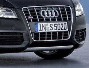 AUDI S5フロントリップスポイラークロームタイプ純正品番:8T08077172ZZ