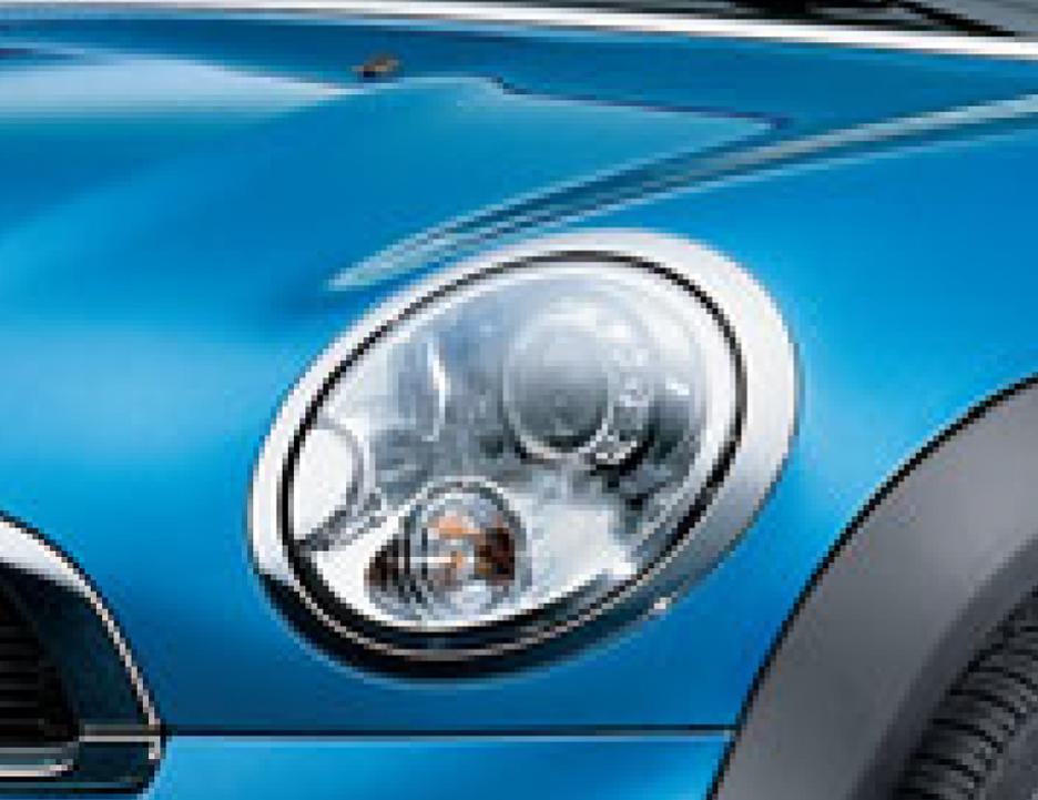 BMW MINIホワイト・ターン・シグナル・ライト付ヘッドライトLH(ハロゲン・ヘッドライト装備車用)63122751873