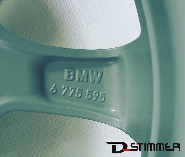 BMW ビーエムダブリューアルミホイール(純正品・新品)1本3シリーズ/E90・E91純正番号:36116775595