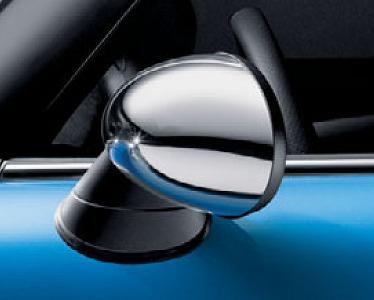 BMWMINI R50、R52、R53用優良品  BMWミニ 右ドアミラーキャップ クロームタイプOE番号:51167123296