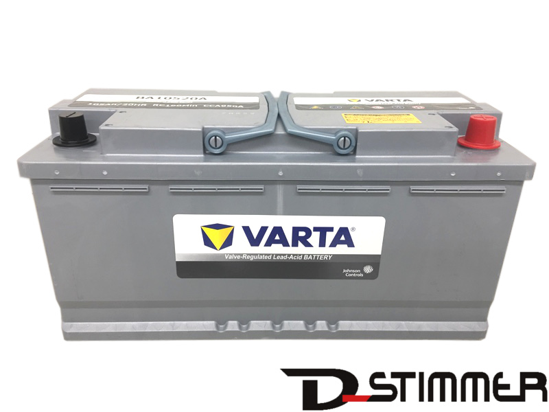 VARTA/ヴァルタAGM バッテリー105Ah