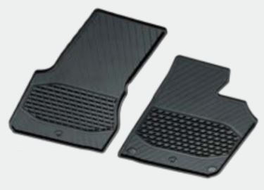 ☆Mercedes-Benz純正アクセサリーラバーマット運転席・助手席用2点セットSMART(453) フォーツー用A45368022049G33