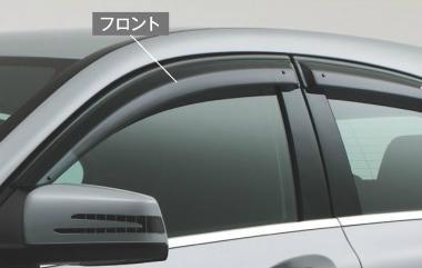 ☆Mercedes-Benz純正アクセサリーサイドバイザーフロント左右セットAクラス(W176)用M1767202010MM