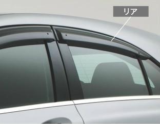 ☆Mercedes-Benz純正アクセサリーサイドバイザーリア左右セットAクラス(W176)用M1767302010MM