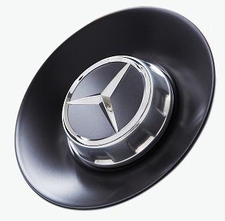 Mercedes-Benz(メルセデスベンツ)W222 S63AMG 10スポーク フォージド マットブラック センターキャップ(純正品・新品)純正番号:22240008009283