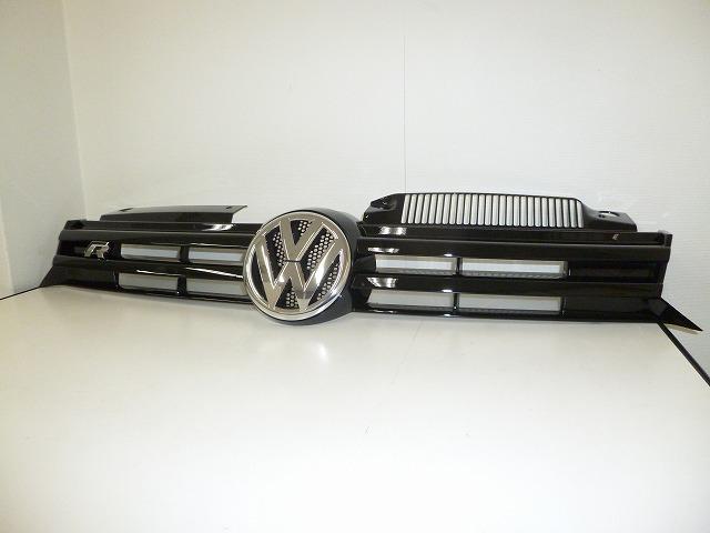 Volkswagen純正 ゴルフ6 「R」ラジエターグリル 5K0853651BF041