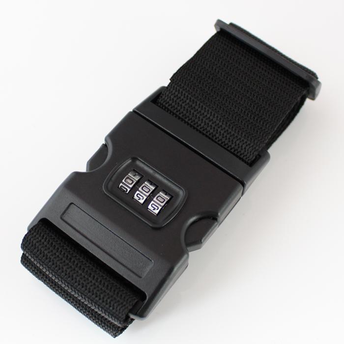 あす楽 旅行用品 トラベルグッズ 店内全品対象 ロック スーツケースベルト 卸直営 単品 旅行の安全 送料無料 安心を