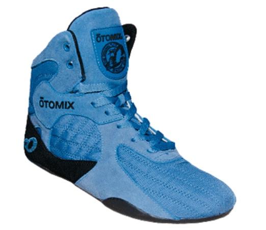 オートミックス トレーニングシューズ STINGRAY ESCAPE ブルー OTO MIX スティングレー エスケープ ウエイトトレーニング 筋トレに最適! ボディビル フィジーク メンズ スクワット デッドリフト ボクシング レスリング 総合格闘技にも!
