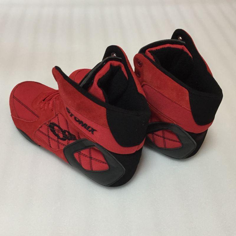 再入荷いたしました 送料無料 トレーニングシューズ オートミックス Ninja ニンジャ レッドバージョン OTO MIX ウエイトトレーニング 筋トレに最適! ボディビル フィジーク メンズ スクワット デッドリフト ボクシング レスリング 総合格闘技にも!