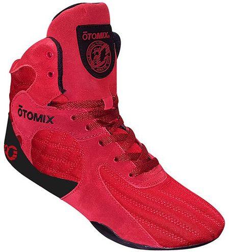 OTOMIX とてもやわらかく そして靴底も薄いので踏ん張りが効きます ボディービルのトップ選手も愛用中 ポイント5倍 オートミックス トレーニングシューズ STINGRAY ESCAPE レッド OTO エスケープ アイテム勢ぞろい ボディビル 激安価格と即納で通信販売 スクワット ウエイトトレーニング 総合格闘技にも スティングレー メンズ 筋トレに最適 フィジーク デッドリフト MIX