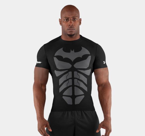 バットマン Dark Knight UNDER ARMOUR アンダーアーマーTシャツ ウェイトトレーニングに! レアなALTER EGO オルターエゴシリーズ【657879】
