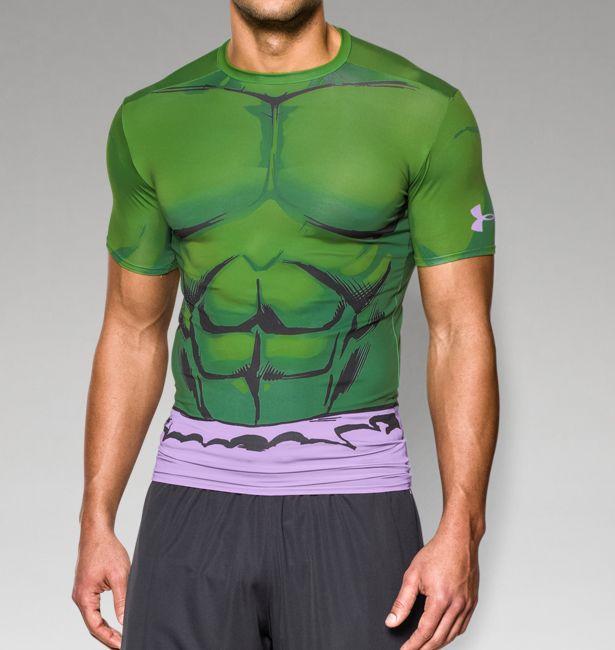 UNDER ARMOUR アンダーアーマー Tシャツ  アベンジャーズのハルク 筋トレ、ウエイトトレーニングに。XL以上の大きいサイズもあります!【657879】