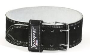 シーク 2ピン レザーベルト パワーベルト リフティングベルト トレーニングベルト Model L6010 ボディビルダー パワーリフター愛用・筋トレ・ウエイトトレーニングの必需品! Schiek Power belt