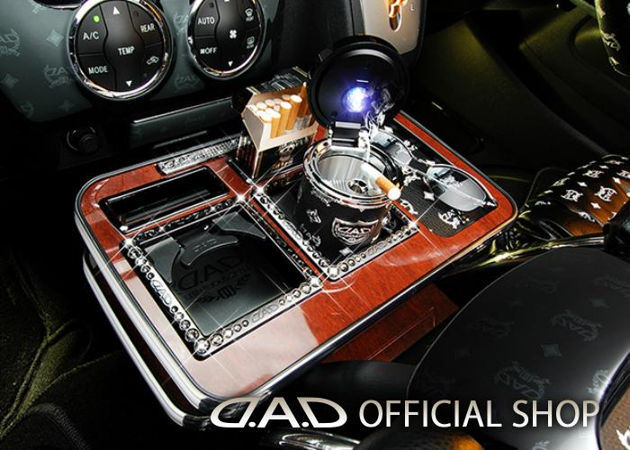 D.A.D センターテーブル スクエアタイプ ディルス (DILUS) H200系 ハイエース (HIACE) 1列目2人乗り用 標準/ワイドボディー車共通 GARSON ギャルソン DAD