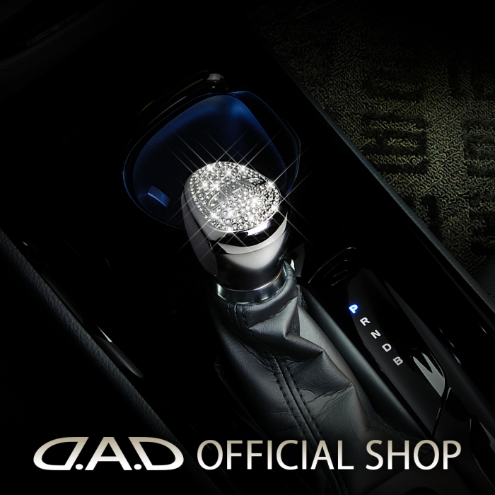 D.A.D クリスタル シフトノブカバー SB106 T-B 10/50系 C-HR GARSON ギャルソン DAD スワロフスキー SWAROVSKI