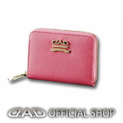 D.A.D ウォレット(コインケース)〈ピンク/ゴールド〉 LE062-04GARSON ギャルソン DAD