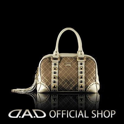 D.A.D GARSON ギャルソン DAD BAG LE010-02 〈ベージュ/クリスタル〉 GARSON ギャルソン DAD