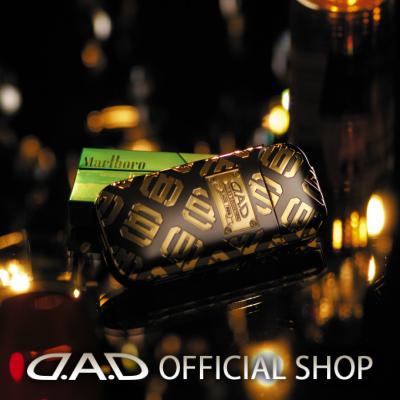 D.A.D プレミアムアイコスカバー モノグラム D.A.D ブラック モノグラム/ゴールド GARSON ギャルソン GARSON DAD, fabfab:14d33b7e --- officewill.xsrv.jp